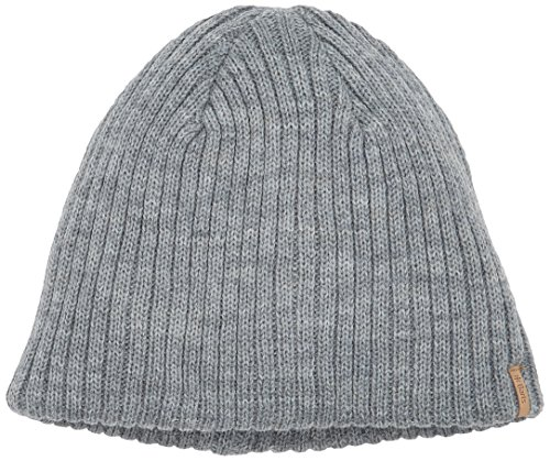 Barts Herren Beanie, Heather Grey (Grau), one-size
