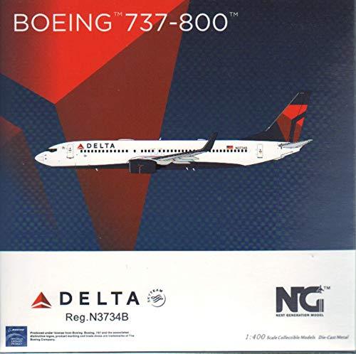 NG Model NGM58085 1:400 Delta Airlines B737-800(W) Reg #N3734B (pre-Painted/pre-Built)