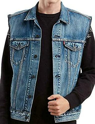 Levi's Herren Trucker Vest Jeansweste, Jayden Weste, Klein