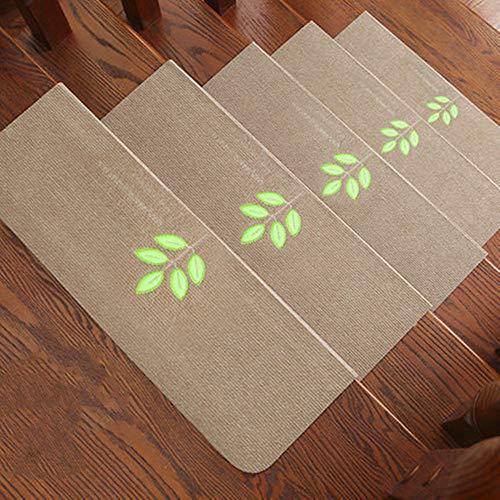 L&Q rutschfeste Treppenmatte Stumm Warme Selbstklebende Leuchtende Teppichmatte, Geeignet Für Innentreppenmatte