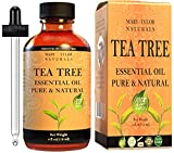 Tea Tree Essential Oil (4 oz), Premium Therapeutic Grade, 100% Pure and Natural, Perfect for Aromatherapy, Relaxation, Improved Mood and Much More by Mary Tylor Naturals