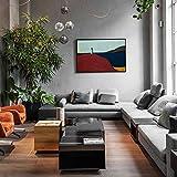 QWESFX Quadro su tela di grandi dimensioni dipinto un uomo in piedi stampa immagine su tela foto arte della parete per la decorazione domestica (stampa senza cornice) D 60x90 cm