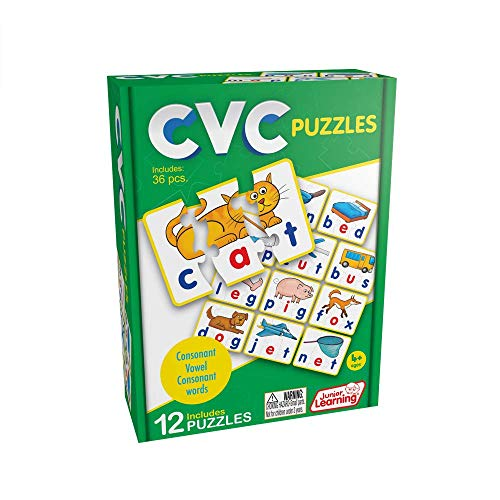 Junior Learning CVC Puzzles