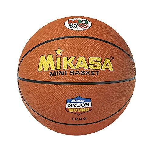 MIKASA Balón Baloncesto Goma Naranja-5