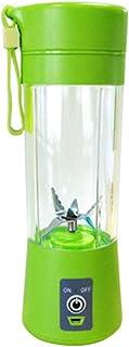 ZH~K Portable Presse-Agrumes électriques 400ml Blender Coupe USB Rechargeable de jus de Fruits légumes Bouteille Mixer Ext...