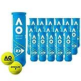 ダンロップ DUNLOP Australian Open オーストラリアンオープン 大会使用球 公式ボール AO 4球入 1箱=18缶〔72球〕 テニスボール DAOYL4DOZ