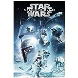 Cartel de película de metal de Star Wars The Empire Strikes Back Episodio V de aluminio D2 placa para puerta Skywalker Darth Vader Film