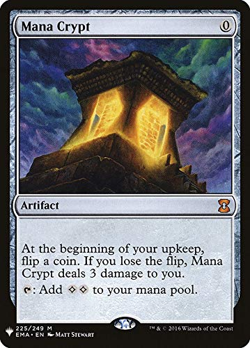 Magic: The Gathering - Mana Crypt - Mystery Booster - Eternal Masters