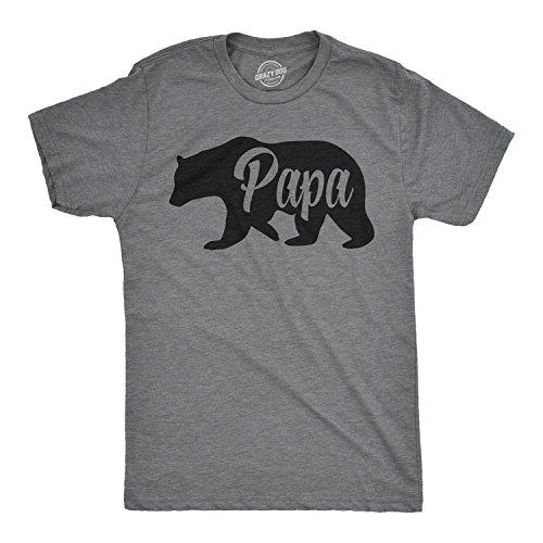 Mens Bear Papa Shirts for Dads