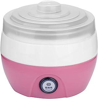 DIY Maker Household Stainless Steel Inner Container Yogurt Machine, Yogurt Maker Machine, Electric for Home Kitchen(Pink)