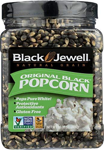 Black Jewell Original Black Hulless Popcorn Kernels 28.35 Ounces (Pack of 1)