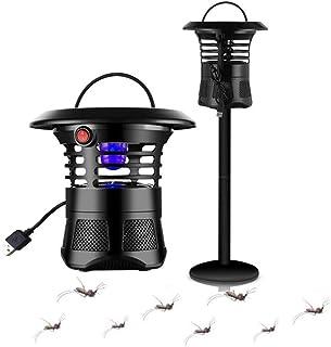 HWZZ Asesino De Mosquitos con Descarga Eléctrica Recargable Fotocatalizador Lámpara para Matar Polillas De Mosca Camping Portátil Control De Plagas