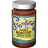 Includes one 16-ounce jar of FRONTERA Gourmet Mexican Double Roasted Tomato Medium Salsa Classic layers of roasted tomato, onion and jalapeño create a bold taste inspired by Mexico City street vendors Try it with FRONTERA tortilla chips for an easy a...