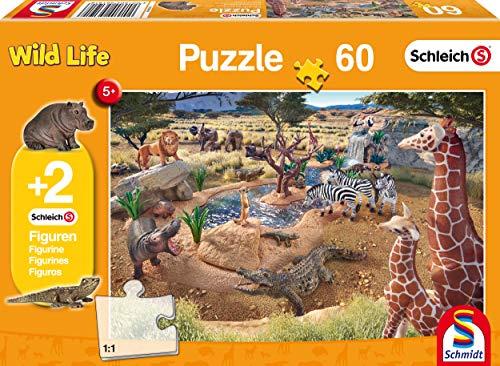 Schmidt Spiele 56191 Puzzle Puzzle - Rompecabezas (Puzzle Rompecabezas, Fauna, Niños, Jirafa, 5 año(s), 02/01/2017)