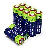 Alkaline 23A MN21 Quecksilberfreie Batterie 12V, 10 Stück im Multi-Sparpack (A23/ V23GA / LRV08 / 8LR932) entwickelt für die Nutzung in Fernbedienungen, Funktürglocken & Sicherheitssystemen