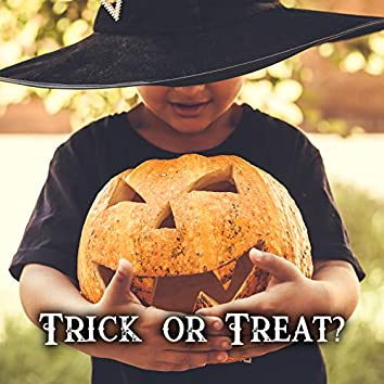 Trick or Treat? - Halloween Party Background for Kids