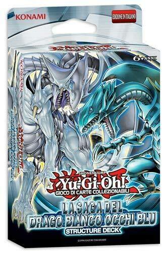 Konami - Yu-gi-oh!STR. Deck Drago Bianco Occhi Blu