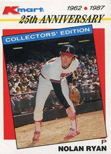 Nolan Ryan baseball card (California Angels) 1987 Topps KMart #20