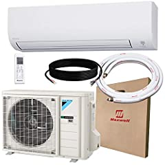 12 Year Parts Warranty, Best in the Industry. As a manufacturer online authorized distributor we provide FREE Technical support by our in-house experts for all your needs. Efficiency Ratings: 19 SEER ,9 HSPF ,12.5 EER. This Daikin 12,000 BTU comes wi...