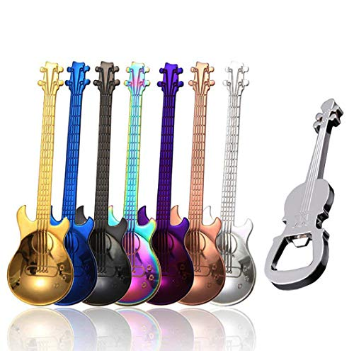Guitar Shaped Spoons