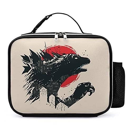 Bolsa Isotermica De Almuerzo Monstruo Sol Bolsa Térmica Impresión Lunch Bag Para Playa Picnic Camping Barbacoa 21x27x9cm
