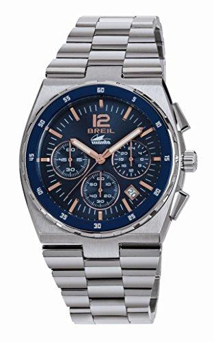 BREIL Watch Manta Sport Male Chronograph Black Stainless Steel - TW1640