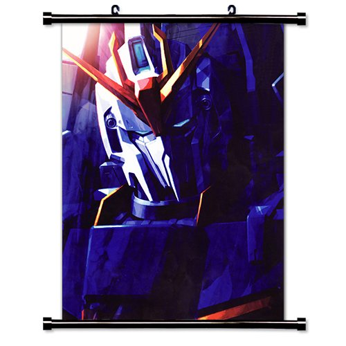 Mobile Suit Zeta Gundam Anime Fabric Wall Scroll Poster (16