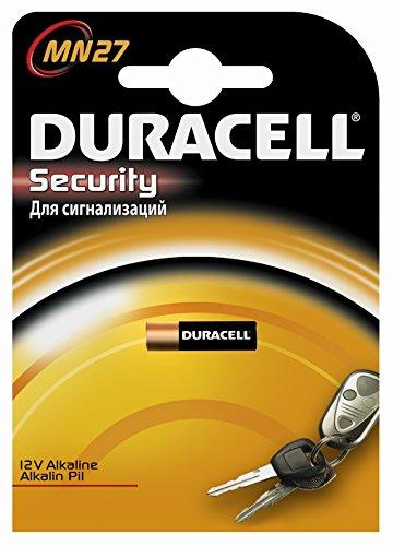Duracell Pile alcaline MN27, 12V, pour télécommande