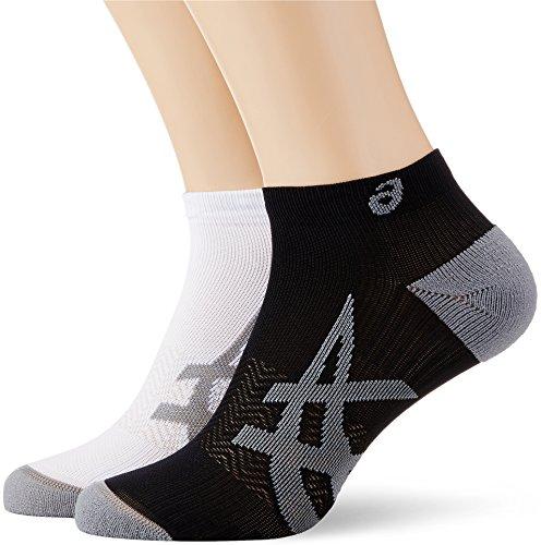 ASICS Herren Lightweight Sock 2er Pack, Weiß, S