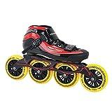 GT 500 110 Inline Skates Speed unisexe / rouge taille 38 noir