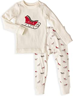 Skylar Luna Unisex Pajamas Set- 100% Organic Turkish Cotton- Unisex Long Sleeve Girls Boys Prints - GOTS Certified