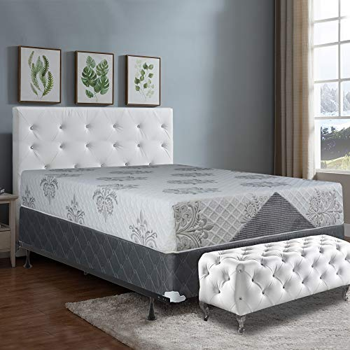 Great Features Of Mattress Comfort 10 Assembled Orthopedic Meduim Plush Foam Mattress and 5-inch Se...