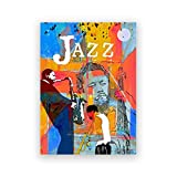 KONGZIR Jazz Greats Poster Miles Davis & John Coltrane