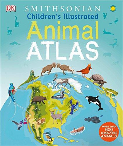 Childrens Illustrated Animal Atlas