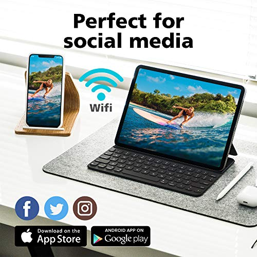 Rollei Actioncam 560 Touch – WiFi Action-Cam wasserdicht 4k 60 FPS – Sports-Cam mit Touchscreen, Unterwasser-Filter, Fotointervallaufnahmen mit 160° Super-Weitwinkel-Objektiv mit viel Zubehör - 5