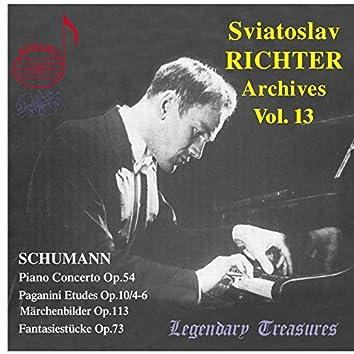 Sviatoslav Richter Archives, Vol. 13: Schumann