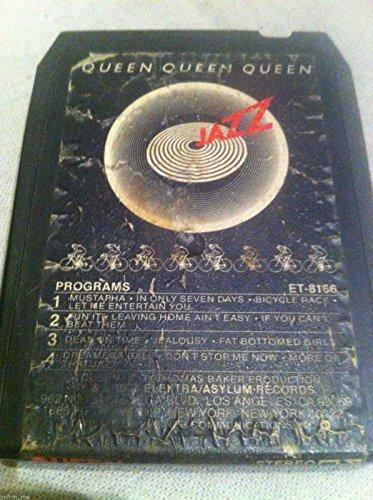QUEEN Jazz 8 track tape 1978 Elektra Original Freddie Mercury