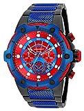 Invicta 25782 Marvel - Spiderman Herren Uhr Edelstahl Quarz roten Zifferblat