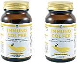 Immuno Col Fer - Integratore alimentare di Colostro di Capra e Lattoferrina - 2 Confezioni