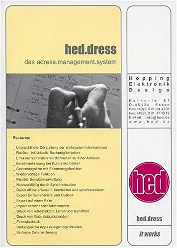 hed.dress - das adress.management.system: professional unlimited