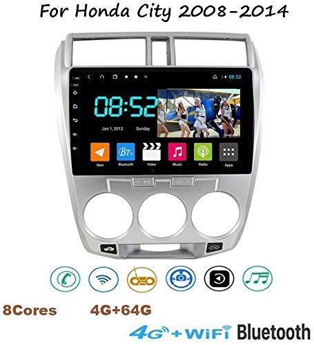 Why Choose WXHHH Stereo Android 8.1 GPS Music Navigation Radio, 91080P Touch Screen Multimedia Play...