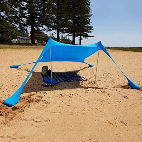 Awning Waterproof Tarp Tent Camping Tent Ultralight Beach Sun Shade Tent Anti UV Awning Tents Family Party Outdoor Sunshelter
