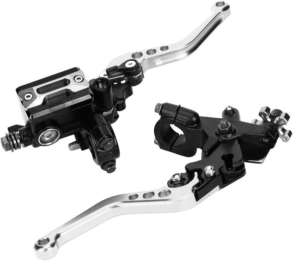 Bremskupplungshebel Universal 7//8in Hydraulic Adjustable Brake Upper Pump Kupplungshebel Griffbaugruppe Gold