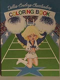 Dallas Cowboys Cheerleaders Coloring Book 1st Edition 1982
