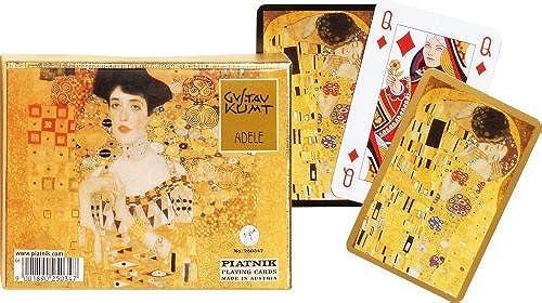 Klimt  Adele and The Kiss Playing Cards, two decks by Piatnik by Piatnik