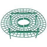 Fdit Supporto per Arrampicata su pianta Rete in plastica Fragola Supporto per Balcone Attrezzo da Giardinaggio a cremagliera per impianto di Balcone e impianto a Serra (11,8x11,8 Pollici)