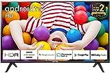 TCL 32ES561, Smart Android TV 32 pollici. Risoluzione HDR, Assistente Google integrato, Dolby Audio