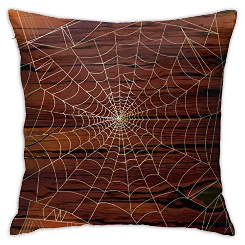 Throw Pillow Covers, Happy Halloween Cushion Square Case Fundas de Almohada Sofá Decoración para el hogar