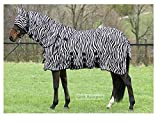 Fliegendecke Zebra Halsteil abnehmbar (125cm)