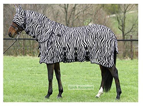 Fliegendecke Zebra Halsteil abnehmbar (145cm)